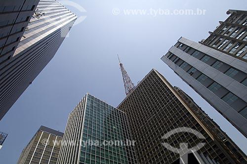 Assunto: Arranha-céus na esquina da Avenida Paulista com a Rua Augusta / Local: São Paulo - São Paulo (SP) - Brasil / Data: Outubro de 2007
