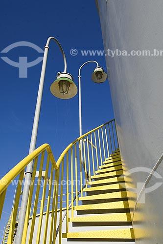 Assunto: Escadaria da UTE Norte Fluminense (Usina Termelétrica) / Local: Macaé - Rio de Janeiro (RJ) - Brasil / Data: 2008