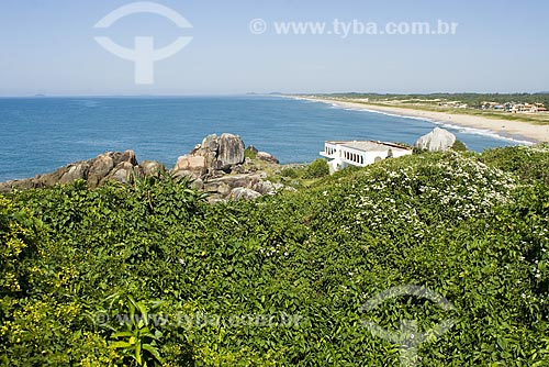 Assunto: Vista da Praia Grande / Local: São Francisco do Sul - Santa Catarina (SC) - Brasil / Data: 19/04/2009