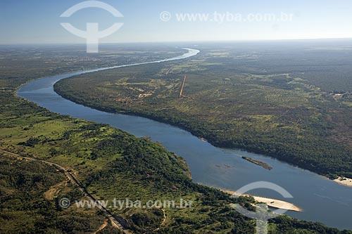 Assunto: Rio Tocantins - jusante da Represa da UHE (Usina Hidrelétrica) Lajeado / Local: Tocantins (TO) - Brasil / Data: Junho de 2006