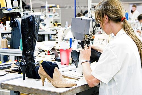 Assunto: Indústria de calçados West Coast / Local: Ivoti - Rio Grande do Sul - Brasil / Data: 02/2008
