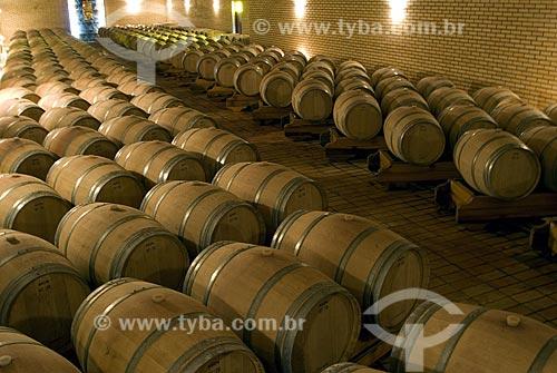 Assunto: Cave da vinícola Valduga - Vale dos Vinhedos / Local: Bento Gonçalves - Rio Grande do Sul - Brasil / Data: 02/2008