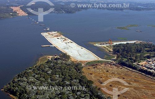 Asunto: Obra do trecho sul do Rodoanel / Local: São Bernardo do Campo - SP - Brasil / Data: 05/2008