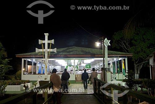 Asunto: Centro de Iluminação Cristã Luz Universal - Alto Santo - Santo Daime / Local: Rio Branco - Acre - Brasil / Data: 06/2008