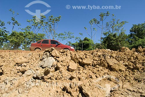 Asunto: Rodovia Transamazônica - BR230 / Local: Humaitá - Amazonas - Brasil / Data: 06/2008