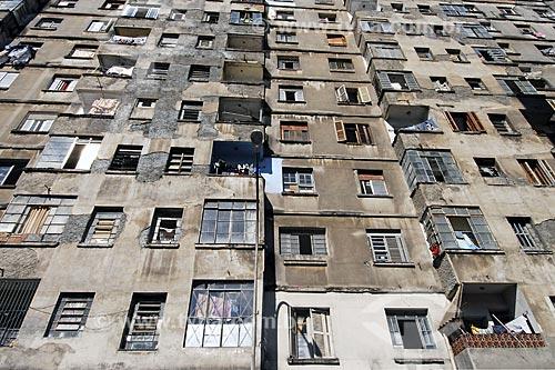 Assunto: Cortiço na Rua Santa Efigênia no Bairro da Luz / Local: São Paulo - SP - Brasil / Data: 01/2008