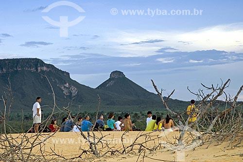 Assunto: Dunas do Parque Estadual do Jalapão / Local: Mateiros - Tocantins - Brasil / Data: 02/2007