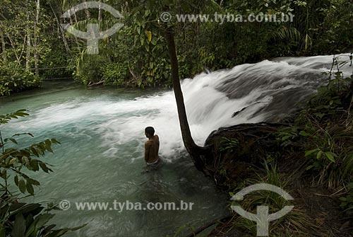 Assunto: Cascata do Formiga - Rio Formiga / Local: Mateiros - Tocantins - Brasil / Data: 02/2007