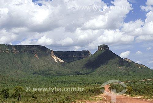 Assunto: Serra do Espirito Santo - Parque Estadual do Jalapão / Local: Mateiros - Tocantins - Brasil / Data: 02/2007
