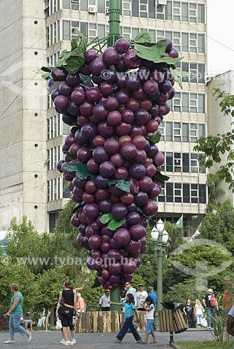 Assunto: Praça Dante Alighieri / Local: Caxias do Sul - Rio Grande do Sul - Brasil / Data: 03/2008