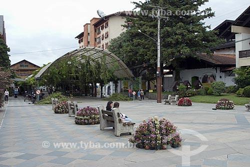 Assunto: Rua coberta da cidade de Gramado / Local: Gramado - Rio Grande do Sul - Brasil / Data: 03/2008
