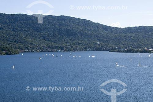Assunto: Lagoa da Conceição vista das dunas / Local: Florianópolis - Santa Catarina (SC) - Brasil / Data: 16/05/2009