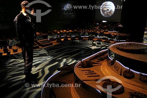 Assunto: Interior do Museu do Índio - Uso educacionalLocal: Botafogo - Rio de Janeiro - RJData: Junho de 2009