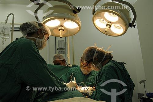 Assunto: Centro cirúrgico do Hospital Mário Kroeff, especializado no tratamento de câncerLocal: Penha - Rio de Janeiro - RJData: Abril de 2009