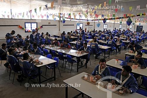 Assunto: Operários do PAC em Manguinhos - RefeitórioLocal: Manguinhos - Rio de Janeiro (RJ) - BrasilData: 07/07/2009