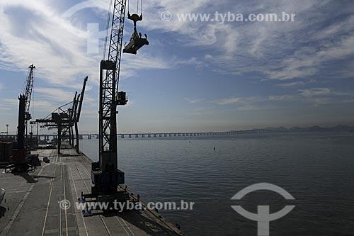 Assunto: Porto do Rio de Janeiro / Local: Rio de Janeiro - RJ / Data: Julho de 2009
