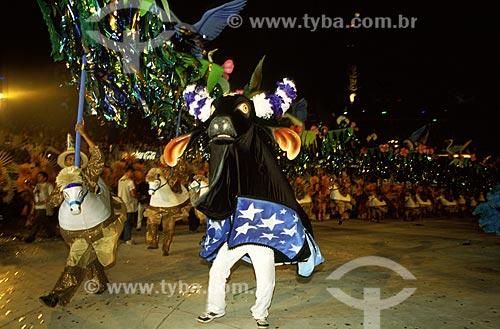Assunto: Festival Folclórico de Parintins - Boi Caprichoso / Local: Parintins - Amazonas (AM) - Brasil / Data: Julho de 2005