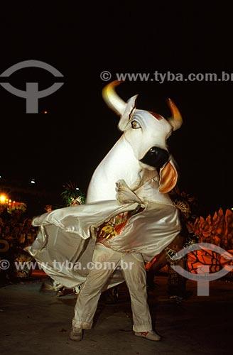 Assunto: Festival Folclórico de Parintins - Boi Garantido / Local: Parintins - Amazonas (AM) - Brasil / Data: Julho de 2005