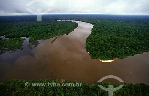 Assunto: Encontro dos rios Iruá (ou Viruá) e Anauá no Parque Nacional do Viruá / Local: Roraima (RR) - Brasil / Data: Março de 2009