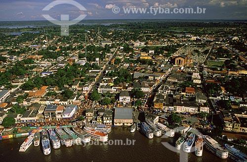 Assunto: Vista Aérea da cidade de Parintins / Local: Amazonas (AM) - Brasil / Data: Março de 2009