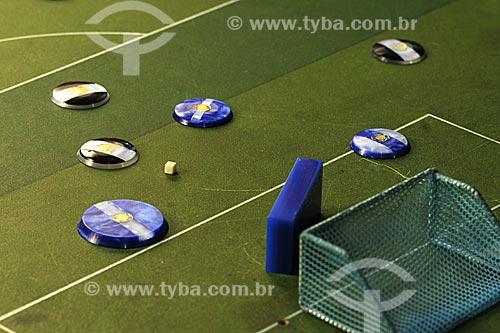 Assunto: Futebol de Botão / Local: Rio de Janeiro - RJ / Data: Julho de 2009