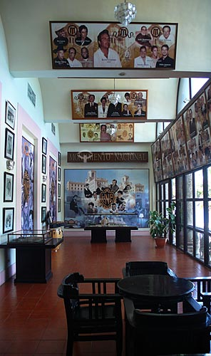Assunto:  Interior do Hotel Nacional - Galeria de fotos de hóspedes célebres / Local: Havana - Cuba / Date: outubro 2009
