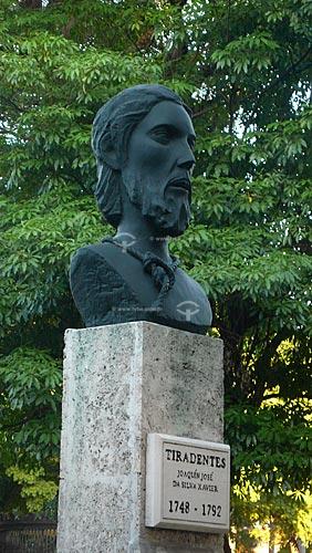 Assunto: Estátua do mártir brasileiro Tiradentes , Joaquim José da Silva Xavier / Local: Havana - Cuba / Date: outubro 2009