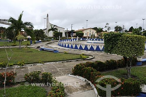 Assunto: Praca Central de Ipixuna / Local: Pará - Brasil / Data: 31-03-2009
