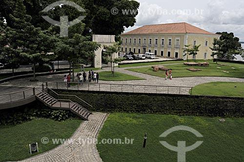 Assunto: Casa das Onze Janelas vista do Forte do Presépio / Local: Belém - Pará - Brasil / Data: 05-05-2009