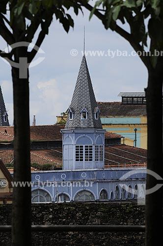 Assunto: Mercado de Peixes no Ver o Peso visto do Forte do Presépio / Local: Belém - Pará - Brasil / Data: 05-05-2009