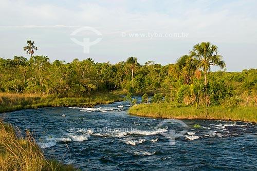 Assunto: Rio Formoso no Parque das Emas / Local: Parque Nacional das Emas - Mineiros - Goiás (GO) / Data: Outubro de 2008