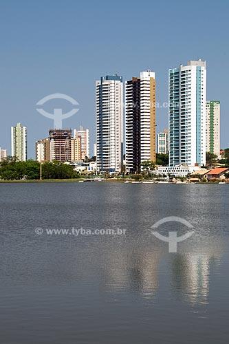 Assunto: Vista da cidade de Campo Grande - Lago do córrego Prosa / Local: Campo Grande - Mato Grosso do Sul (MS) / Data: Outubro de 2008
