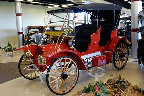 Assunto: Museu do Automóvel - Museu da Tecnologia - Chase 1908 - O carro mais antigo do RS / Local: Canoas - Rio Grande do Sul (RS) / Data: Fevereiro de 2008