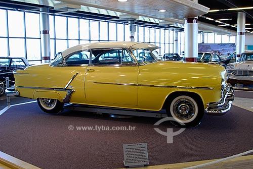 Assunto: Museu do Automóvel - Museu da Tecnologia - Oldsmobile 88 - 1953 / Local: Canoas - Rio Grande do Sul (RS) / Data: Fevereiro de 2008
