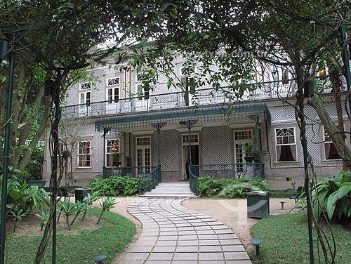 Assunto: Solar do Jambeiro, casarão que abriga exposições de artes plásticas, seminários e cursos sobre preservação e restauração de bens culturais / Local: Ingá - Nitério - RJ - Brasil / Data: Outubro de 2009
