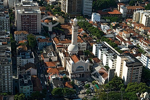 Assunto: Paróquia de São Sebastião dos Frades Capuchinhos, conhecida como Igreja dos Capuchinhos, na Tijuca / Local: Tijuca - Rio de Janeiro - RJ - Brasil / Data: Outubro de 2009