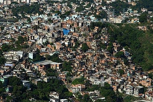 Assunto: Morro de São Carlos, no Centro do Rio de Janeiro / Local: Rio de Janeiro - RJ - Brasil / Data: Outubro de 2009