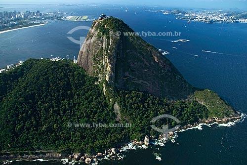 Assunto: Vista aérea do Pão de Açúcar / Local: Rio de Janeiro - RJ - Brasil / Data: Outubro de 2009