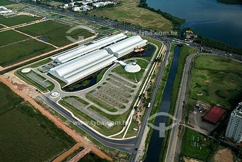 Assunto: Vista aérea do Hospital Sarah (Centro Internacional SARAH de Neurorreabilitação e Neurociências), em Jacarepaguá, na Zona Oeste do Rio de Janeiro / Local: Rio de Janeiro - RJ - Brasil / Data: Outubro de 2009
