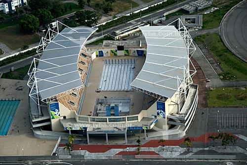 Assunto: Vista aérea do Parque Aquático Maria Lenk, na Barra da Tijuca / Local: Rio de Janeiro - RJ - Brasil / Data: Outubro de 2009