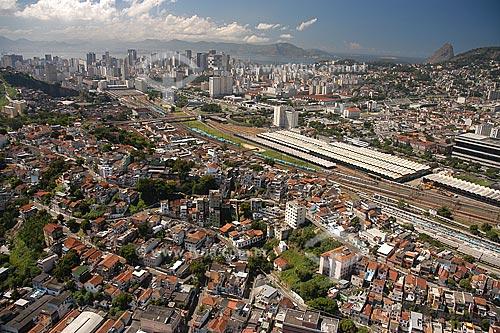 Assunto: Vista aérea da Cidade Nova / Local: Rio de Janeiro - RJ - Brasil / Data: Março de 2005