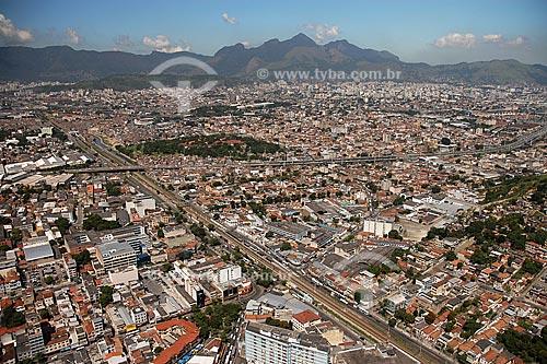 Assunto: Vista aérea de Manguinhos / Local: Rio de Janeiro - RJ - Brasil / Data: Março de 2005