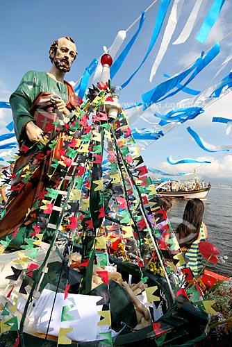 Assunto: Procissão Marítima de São Pedro (padroeiro dos pescadores)  / Local: Baía de Guanabara - RJ  / Data: Junho de 2009