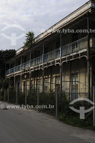Assunto: Casario sede da fazenda do Barão da Taquara - Colônia Juliano Moreira -  Núcleo Histórico  / Local:  Jacarepaguá - Rio de Janeiro - RJ  / Data: 27/07/2009