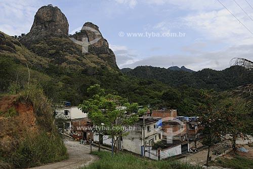 Assunto: Colônia Juliano Moreira - Comunidade Dois Irmãos - Setor 3A  / Local:  Jacarepaguá - Rio de Janeiro - RJ  / Data: 27/07/2009