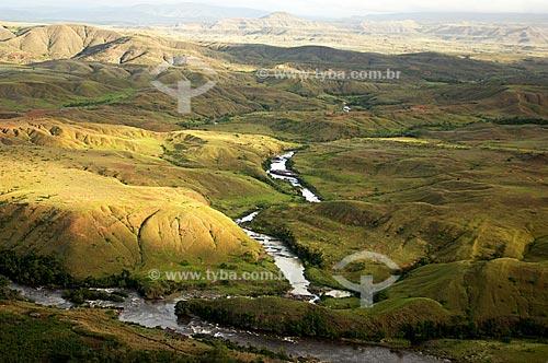 Assunto: Rio Uialaú - Cabeceiras dos rios de Roraima  / Local:  Região de savanas e tepuis do extremo norte de Roraima - Brasil  / Data: Janeiro de 2006