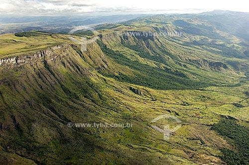 Assunto: Tepui do norte de Roraima - Cabeceiras de rios da bacia do Rio Branco - Local: Roraima - Brasil  / Local:  Data: Janeiro de 2006 / Data: Janeiro de 2006