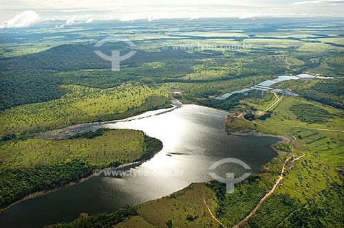 Assunto: Açudes no Lavrado de Roraima  / Local:  Norte de Boa Vista - Roraima - Brasil  / Data: Janeiro de 2006
