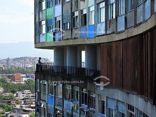 Assunto: Conjunto Residencial Prefeito Mendes de Moraes (Pedrgulho), obra do arquiteto Affonso Eduardo Reidy  / Local:  São Cristovão - Rio de Janeiro - RJ  / Data: 20/11/2009