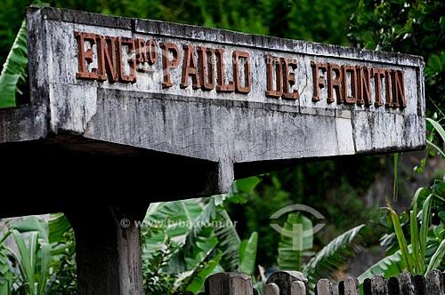 Estação Ferroviária de Engenheiro Paulo de Frontin, inaugurada em 12 de julho de 1863  - Engenheiro Paulo de Frontin - Rio de Janeiro - Brasil